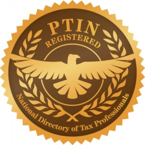 THE NATIONAL DIRECTORY OF REGISTERED TAX RETURN PREPARERS AND PROFESSIONALS PTIN LOGO